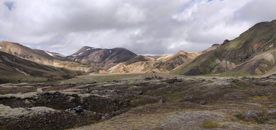 I colori del Landmannalaugar