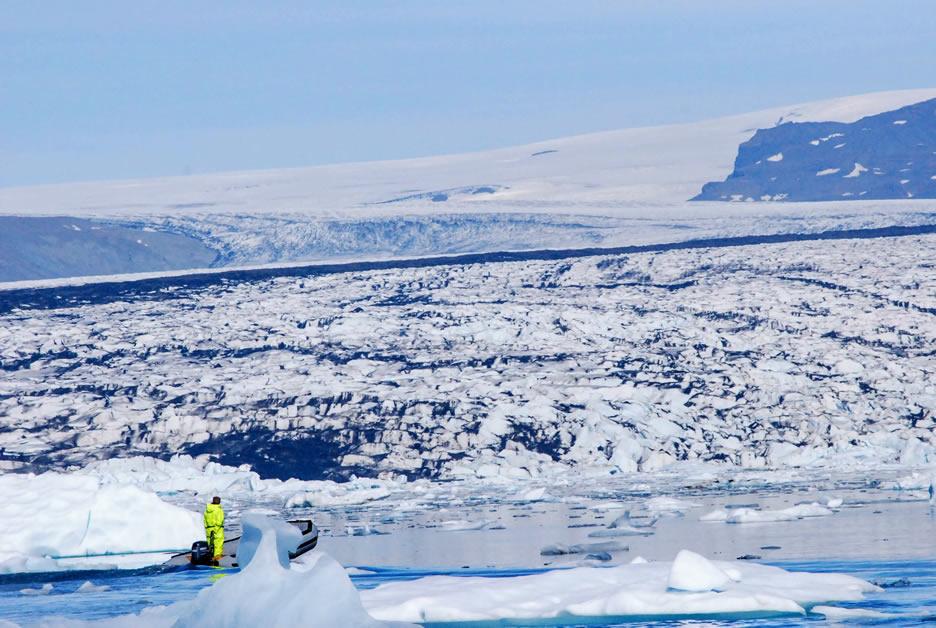 Gli iceberg nella laguna di Jokulsarlon - 2 204