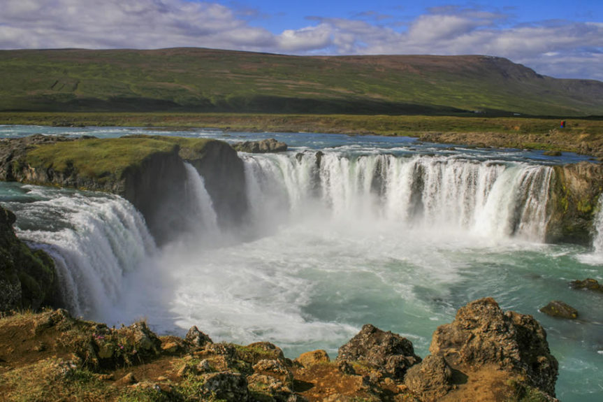 Godafoss waterfall iceland s
