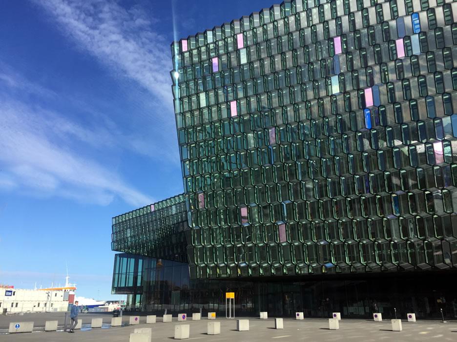 Harpa - sala concerti e centro congressi a Reykjavik