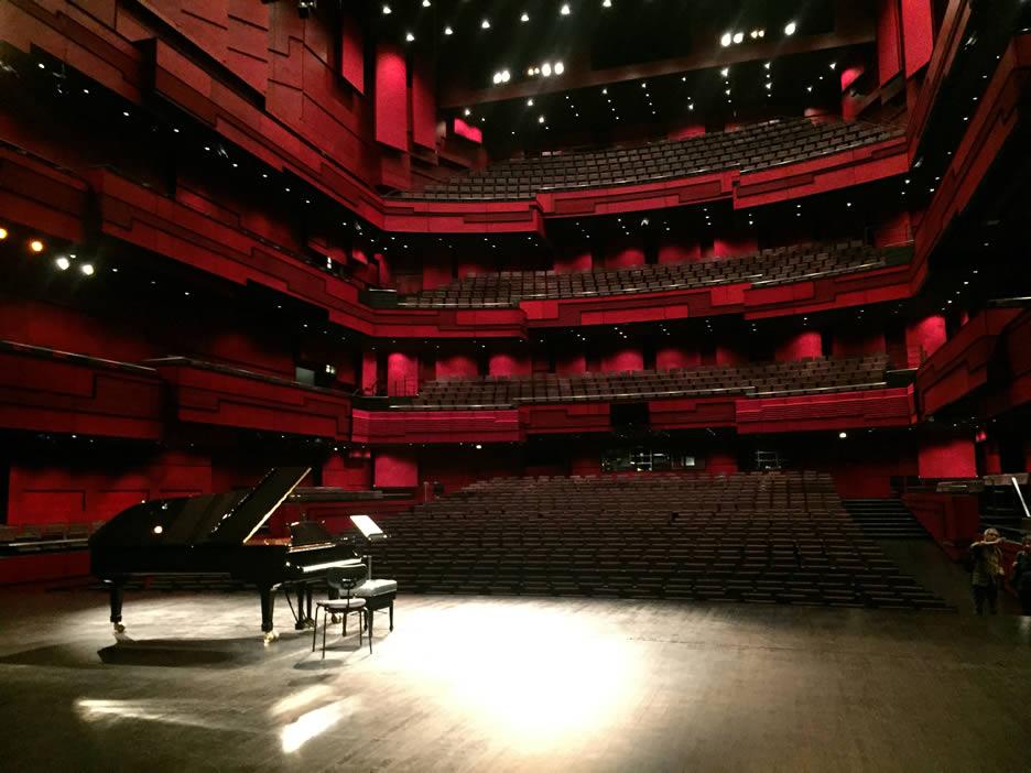 Harpa - auditorium interno