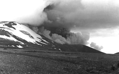 Eruzione dell' Hekla nel 1980