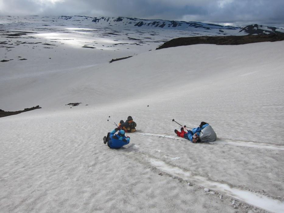 panorama con la neve