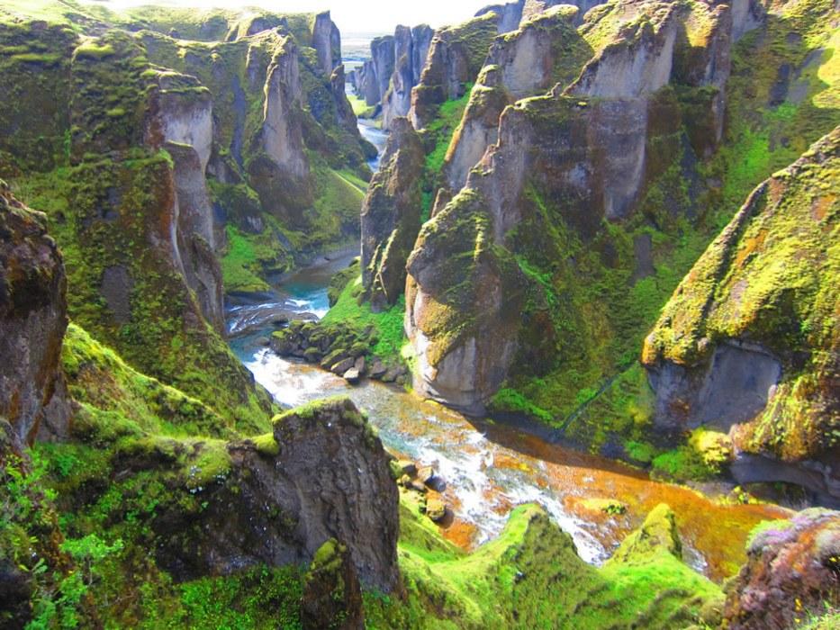 canyon islandese