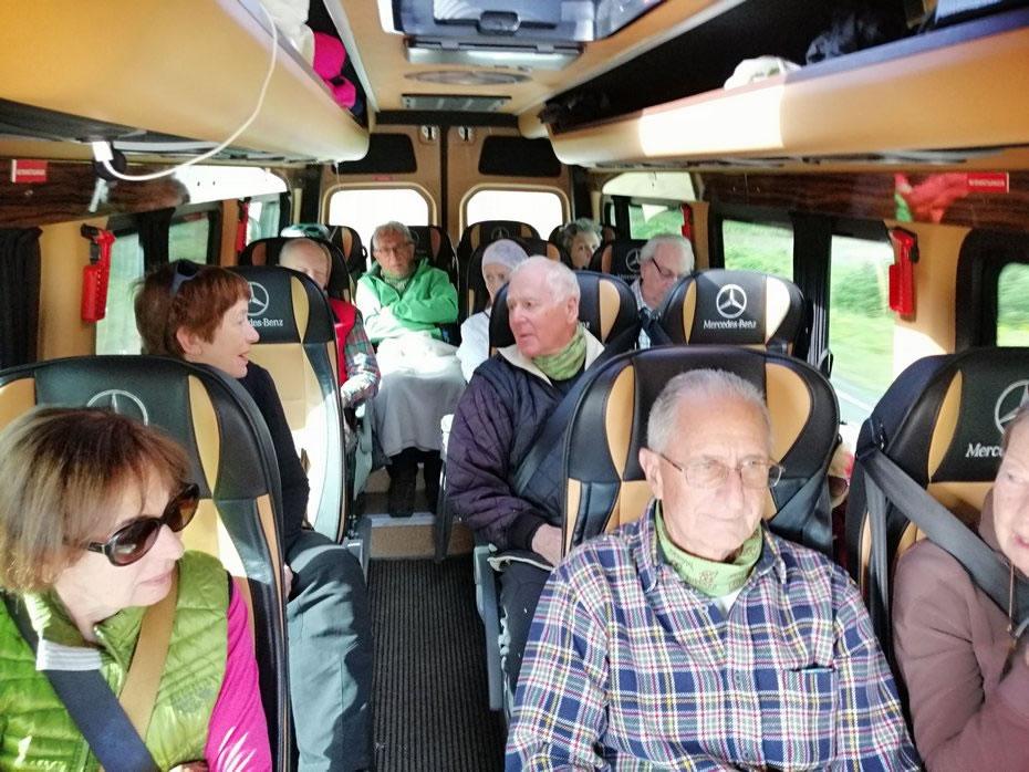 interno bus islandese