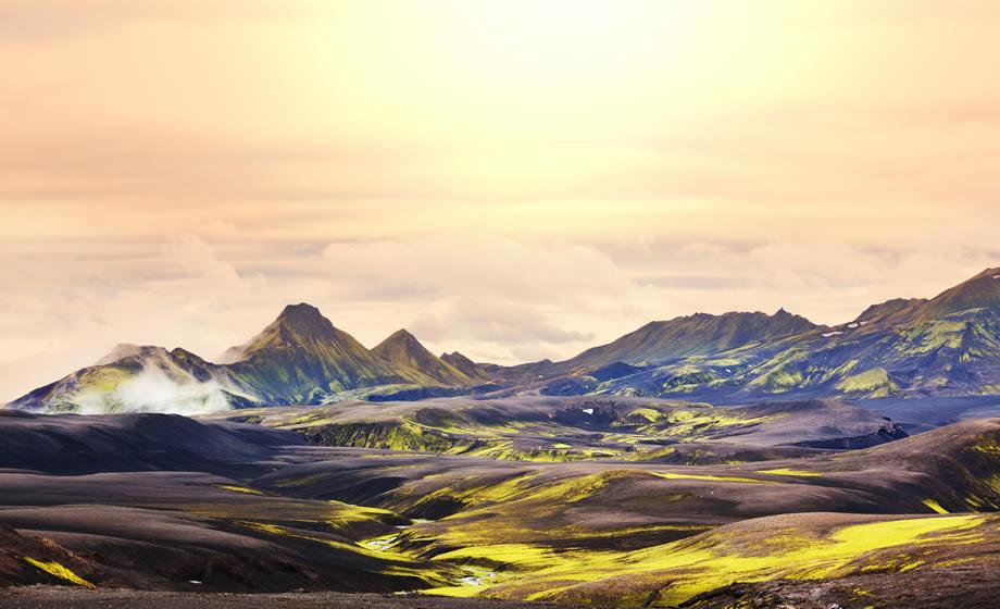 il fantastico paesaggio del Landmannalaugar