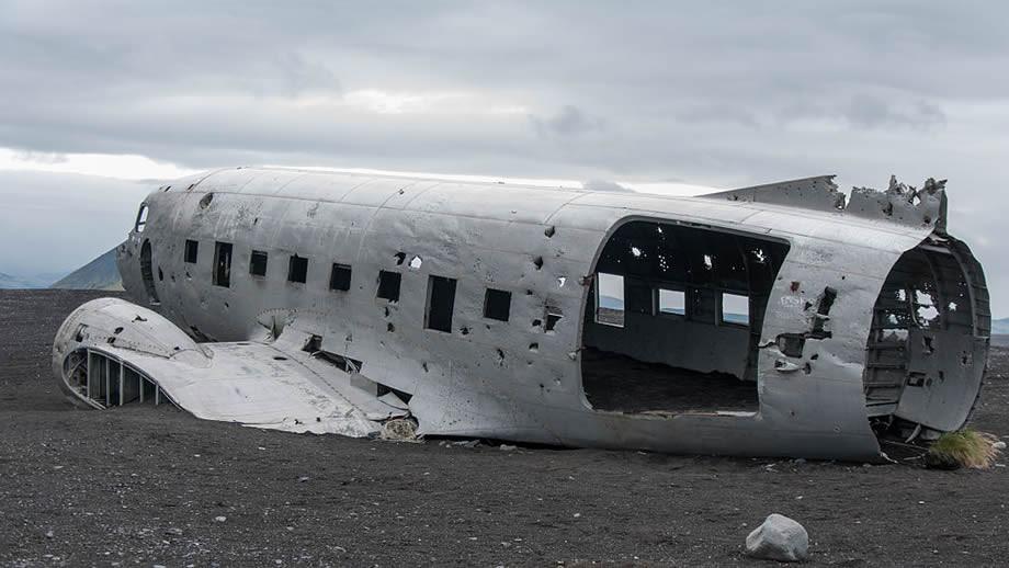 Iceland dc9 abbandonato