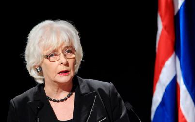 Johanna Sigurdardottir 2010