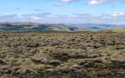 Kirkjubaejarklaustur paesaggio di tundra