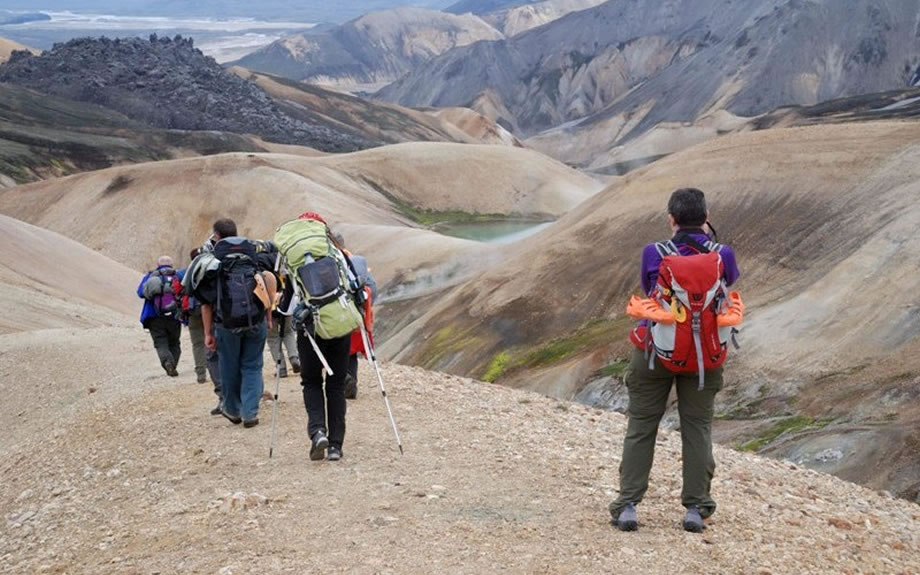 trekking sul Landmannalaugar