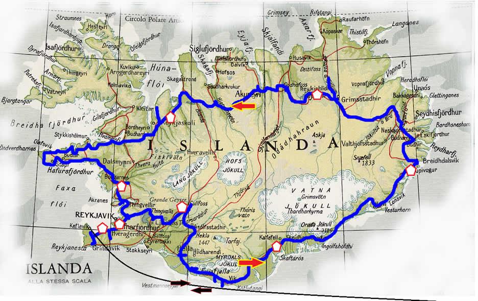 Mappa Aurore Boreali 2020