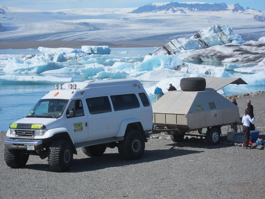 jeep in Islanda