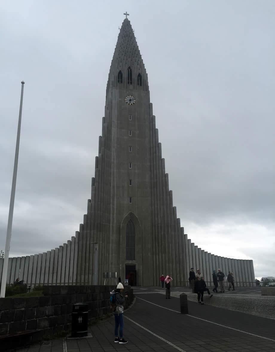 Reykjavik e la sua cattedrale
