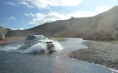 Islanda in jeep