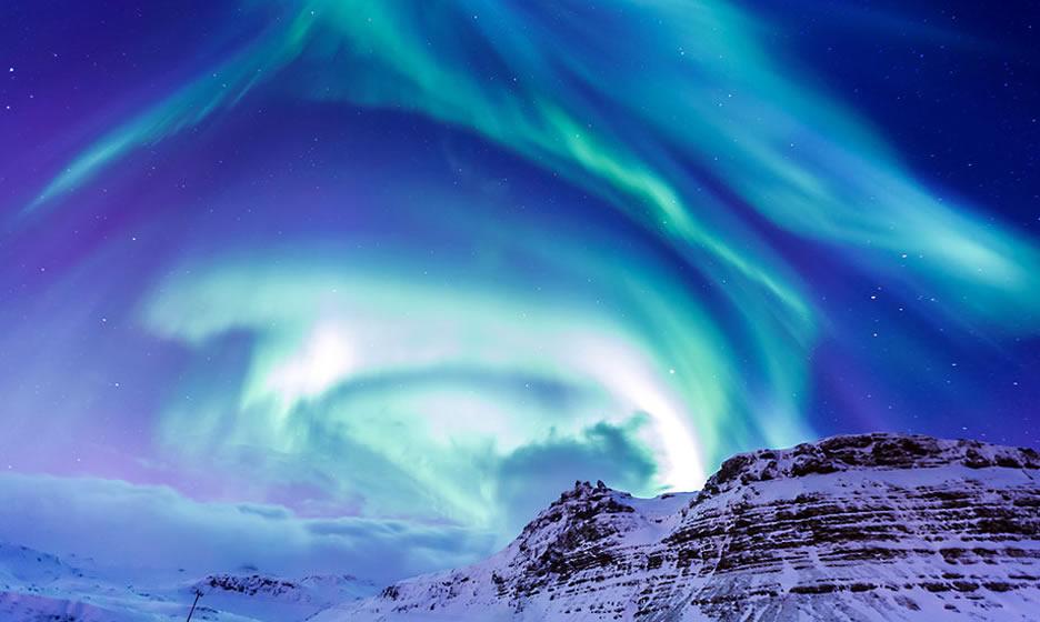 aurore boreali invernali