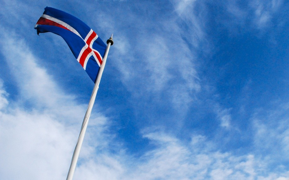 la bandiera islandese