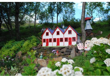 casa degli elfi in Islanda