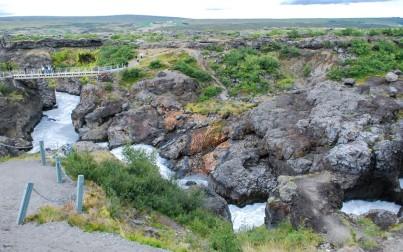 cascata di Barnafoss