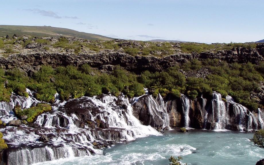 cascata di Raunfossar