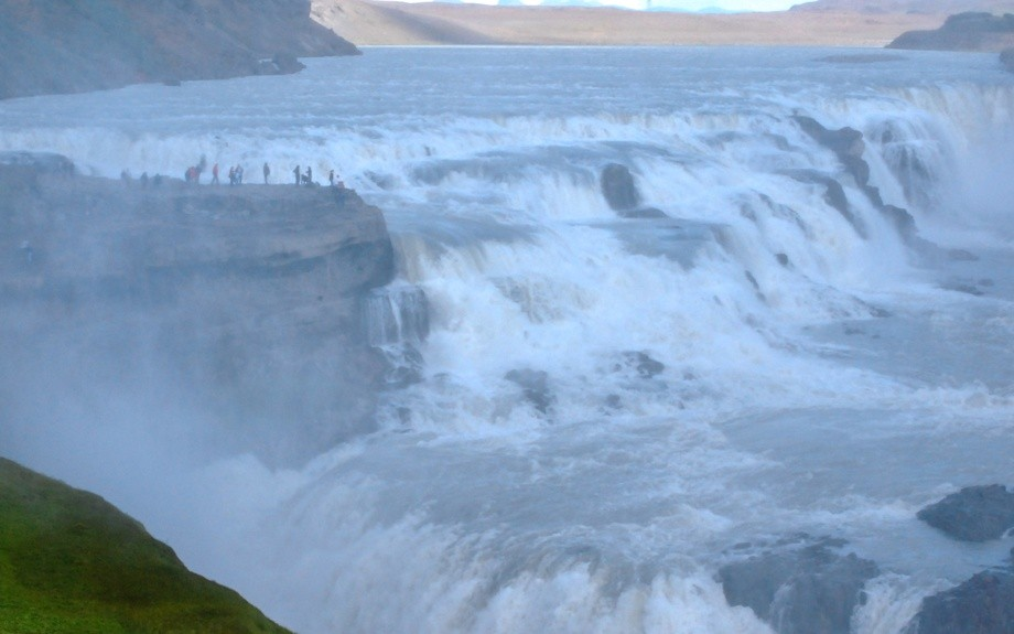 Gullfoss in Islanda