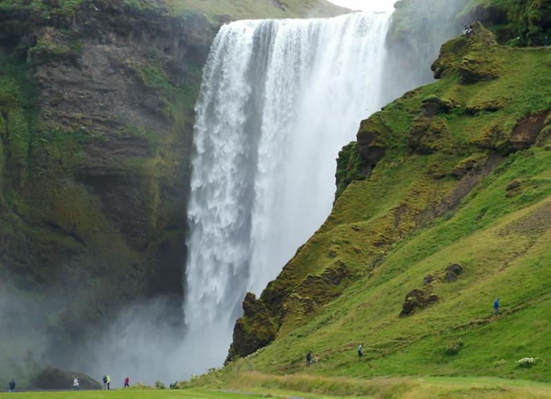 cascata di Skogafoss