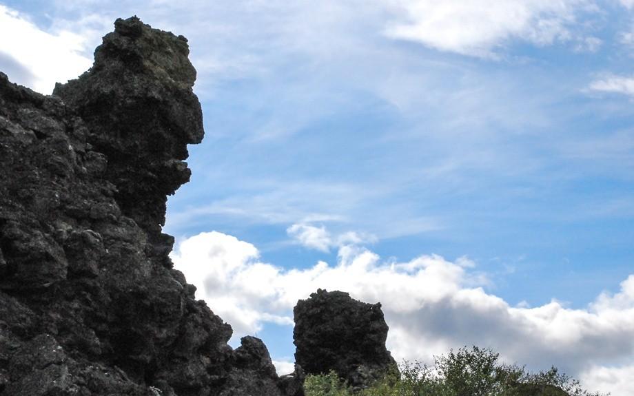 castelli di lava di Dimmuborgir