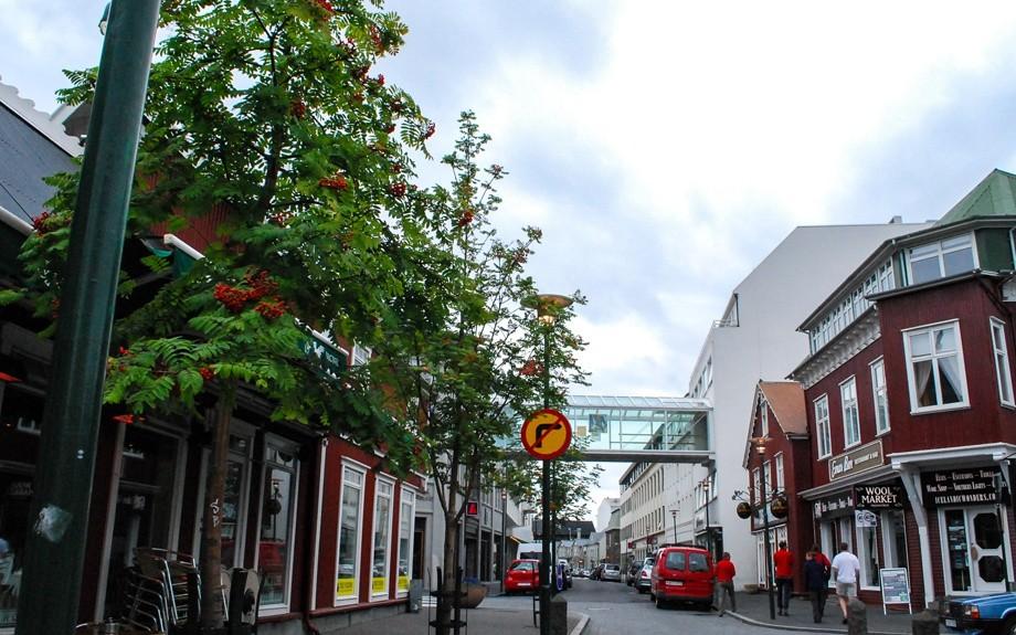 centro di Reykjavik