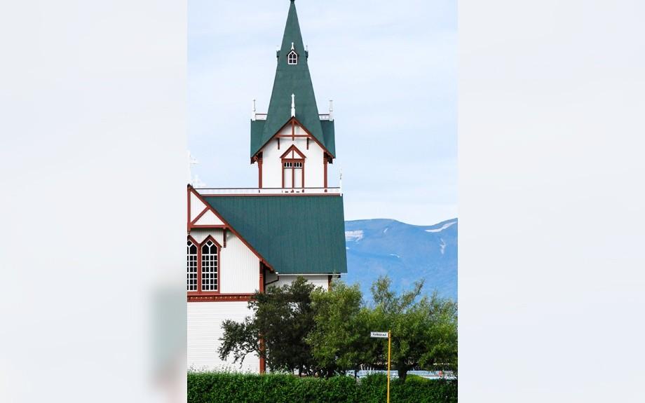 la chiesa di Husavik