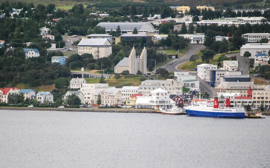 fiordo di Akureyri