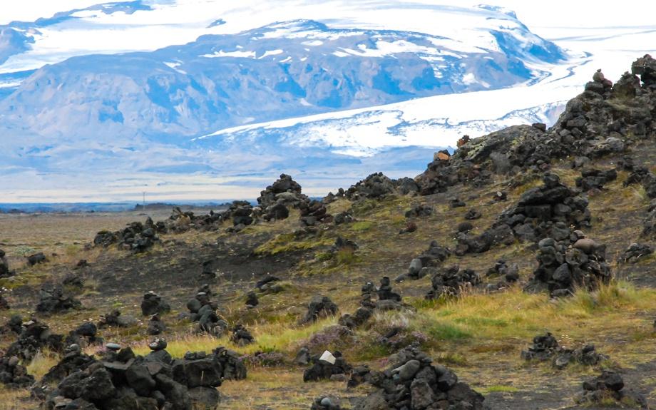il ghiacciaio Myrdalsjokull