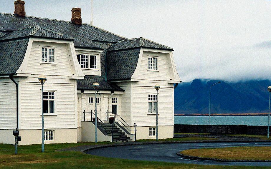 Höfði Hous teatro di incontri internazionali