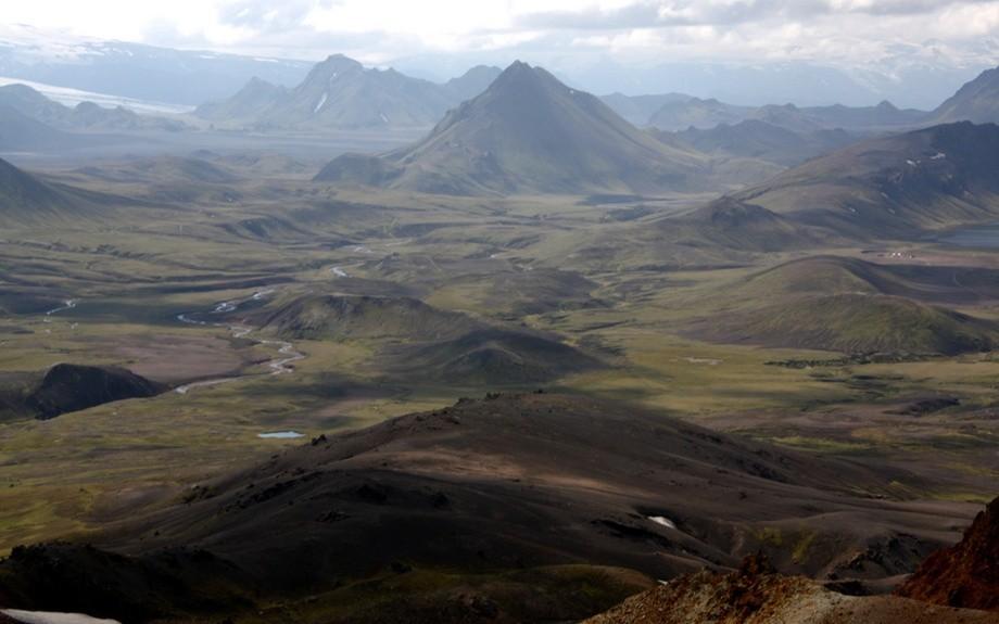 Una splendida vista di Hrafntinnusker.
