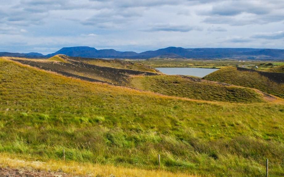 i crateri e il lago Myvatn