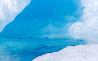 il colore degli iceberg