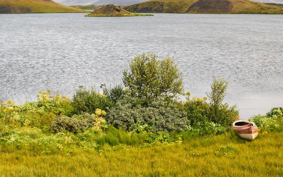 il lago Myvatn