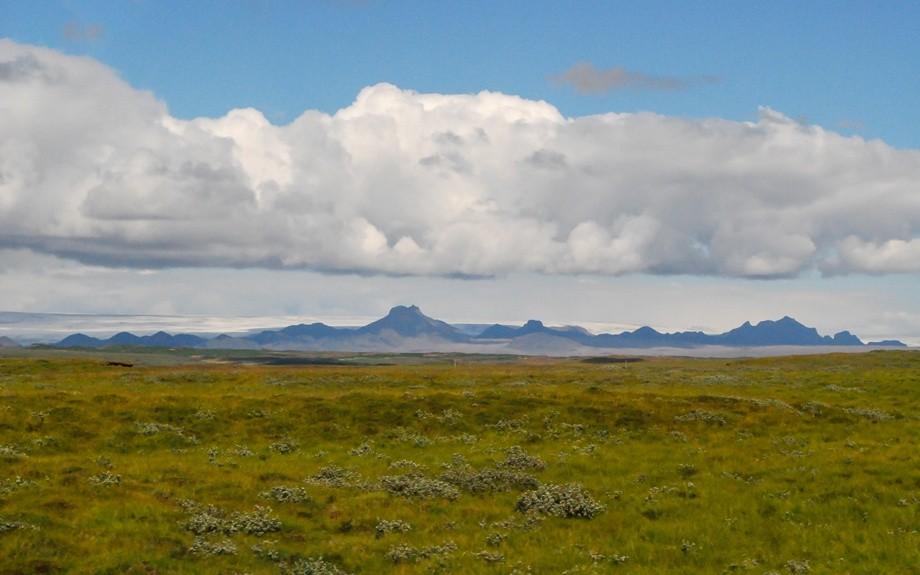 l'Islanda in estate