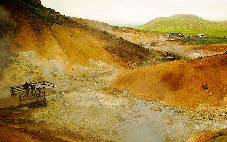 area geotermale di krisuvik