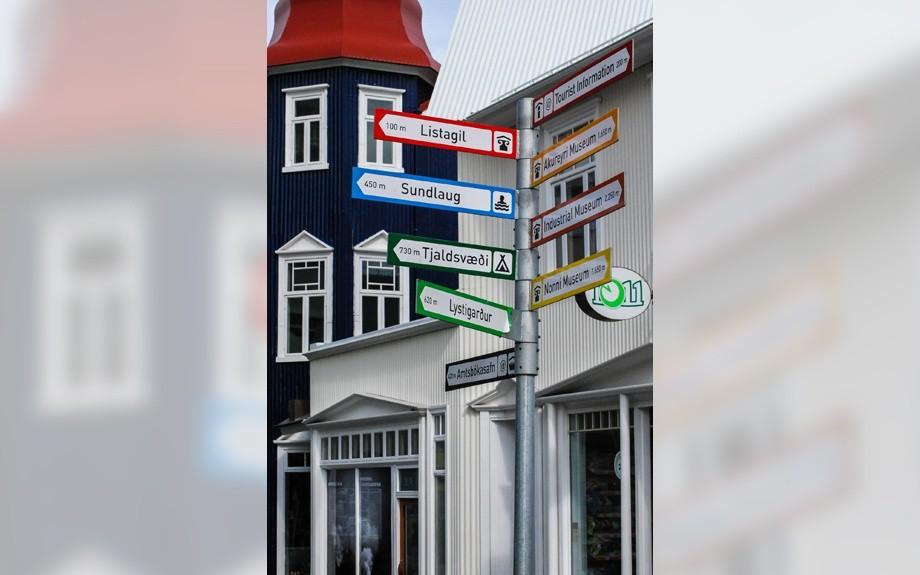 la città di Akureyri