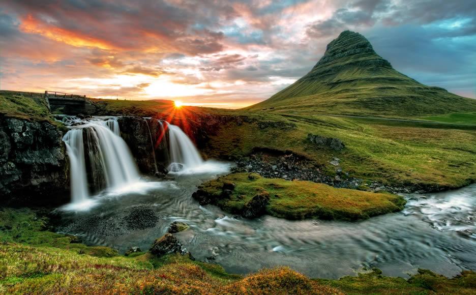 la montagna di Kirkjufell