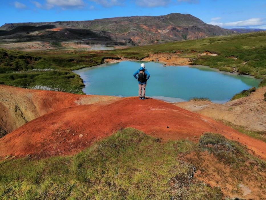 laghi colorati in Islanda