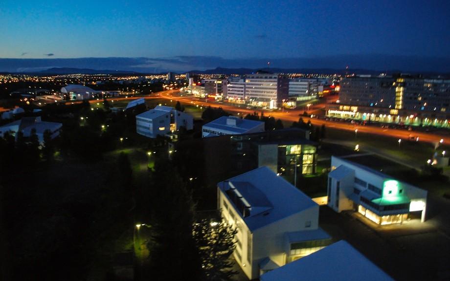 luci notturne in islanda