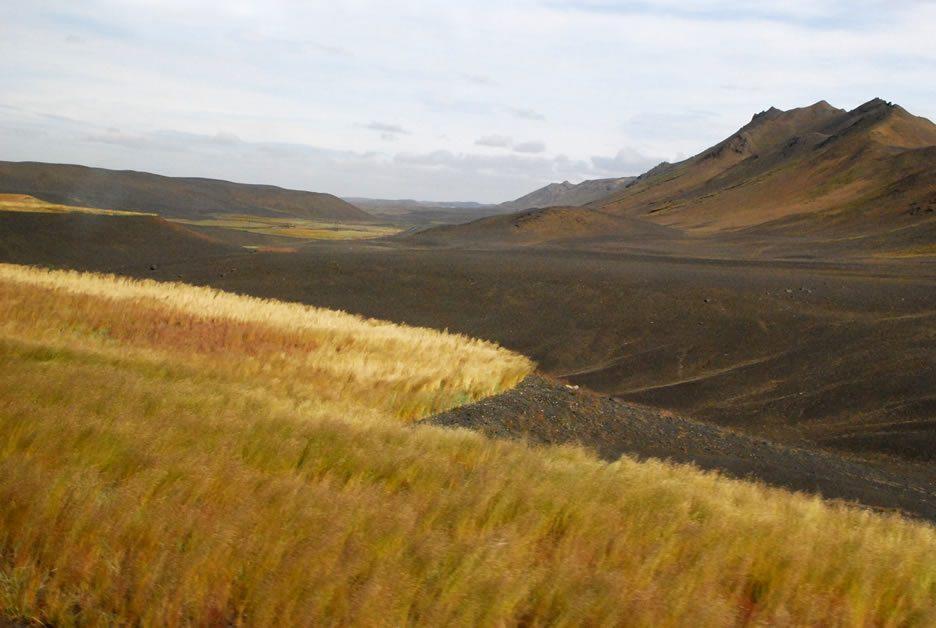 paesaggi islandesi a Modrudalur