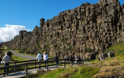 parlamento islandese Thingvellir