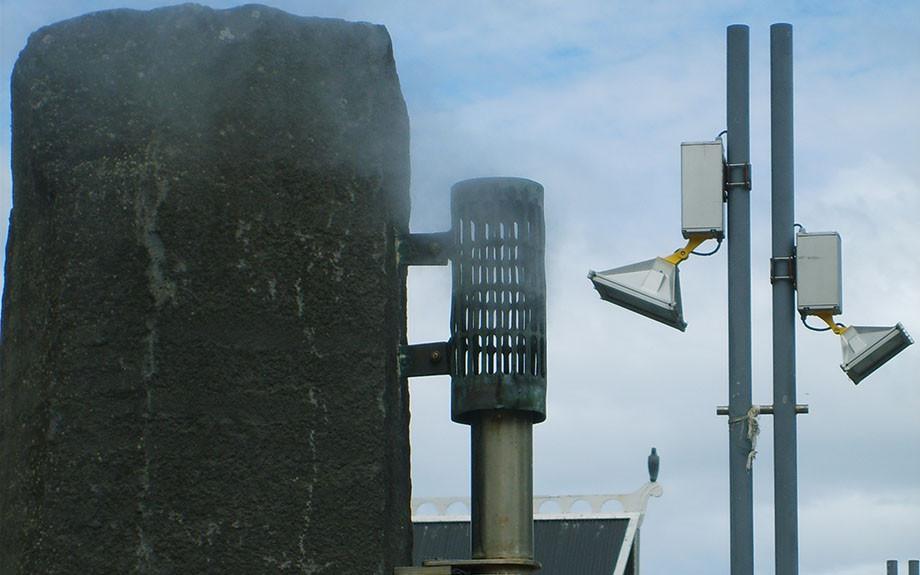 particolare del monumento alla fondazione di Reykjavik - ph Paolo B.