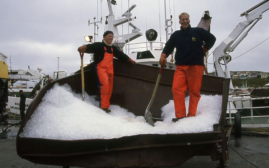 Pescatori islandesi - f.to M. Conforti
