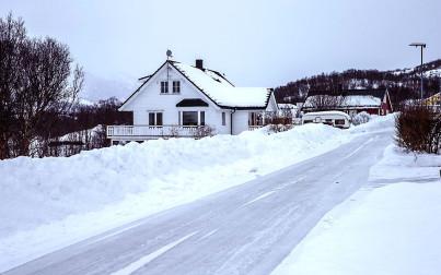 paesaggio invernale in Islanda