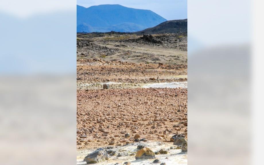 rocce della zona vulcanica