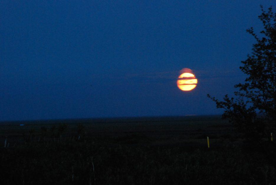 sole di mezzanotte in Islanda