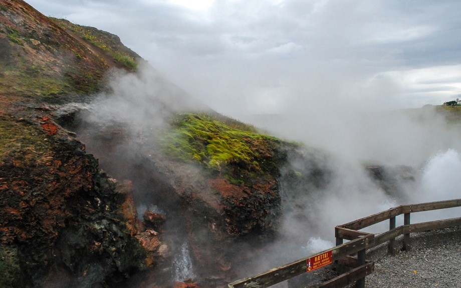 La sorgente geotermale Deildartunguhver