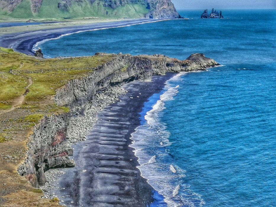 spiaggia islandese